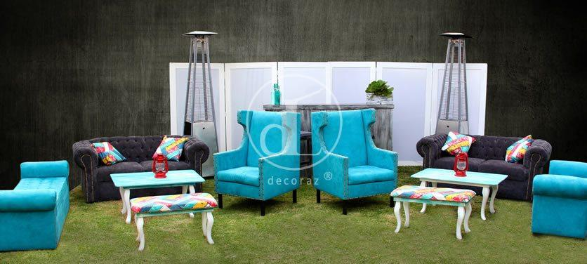 Salas vintage renta df for Alquiler muebles vintage